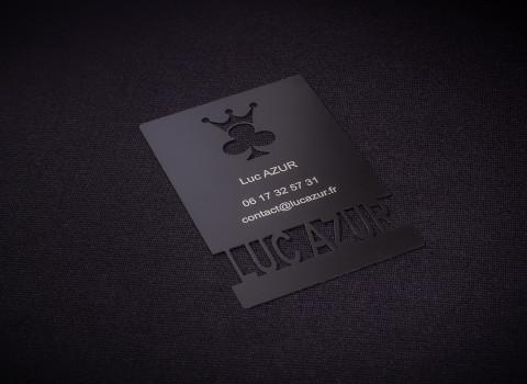 Fabricant de cartes de visite originales et personnalisées en métal