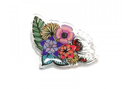 Pin's en acrylique fabriqués à partir de 100 exemplaires seulement