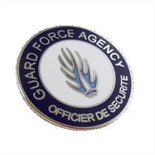 Badges personnalisés nominatifs
